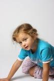 Ein schönes Mädchen Stockbild