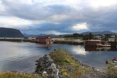 Ein schönes Norwegen Lizenzfreies Stockfoto