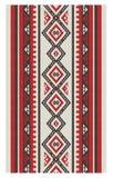 Ein schönes vertikales Sadu-Art-Muster Lizenzfreie Stockbilder