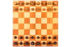 Ein Schachspiel Stockfotos