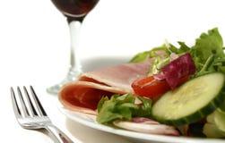 Ein Schinken-Salat Lizenzfreie Stockbilder