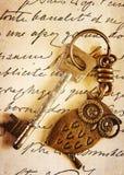 Ein Schlüssel Stockfoto