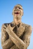 Ein schmutziger Mann Lizenzfreies Stockfoto