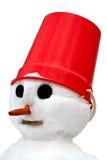 Ein Schneemann getrennt. Lizenzfreies Stockbild