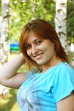 Ein schönes Mädchen Stockfotos