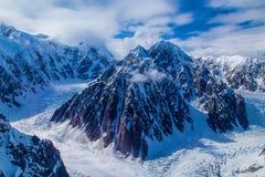Ein schroffer Berg Stockfoto