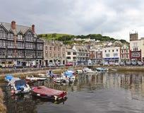 Ein Schuß der Dartmouth-Gemeinde, Devon, England Stockfoto