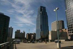 Ein Schuß von Kansas City Stockfotos