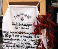 Touristischer Verkauf in Ungarn Stockfotografie