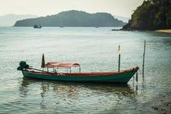 Ein Schwanzboot Lizenzfreies Stockfoto