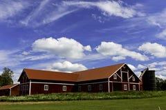 Ein schwedischer Bauernhof. Stockfotos