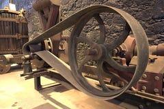 Ein Schwungrad Stockfoto
