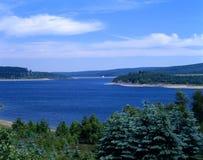 Ein See Stockfoto