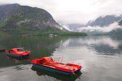 Ein See in Hallstatt, Österreich Lizenzfreie Stockbilder