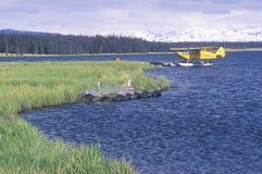 Ein Seeflugzeug rief Homer Split in Homer, Alaska an lizenzfreie stockbilder