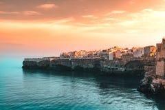Ein sehr berühmter Blick des Meeres Lizenzfreie Stockbilder