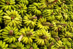 Ein sehr großer Bananenstapel lizenzfreie stockfotografie