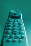 Ein sehr hohes drahtloses Haustelefon stockbilder