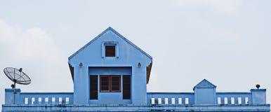 Ein sehr ordentliches und buntes Haus Stockfoto