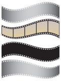 Ein Set Filme Lizenzfreie Stockfotografie