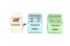 Ein Set Ikonen der Küchegeräte für Ihre Auslegung Stockfotos