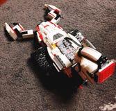 Ein Skorpionsroboter hergestellt von den Bausteinen lizenzfreie stockfotos