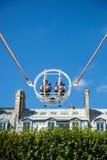 Ein Sommer Funfair in den Tuileries-Gärten, in der Mitte der Gleichheit lizenzfreie stockfotografie