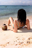Ein Sonnenbad nehmen in Mexiko 2 Stockfoto