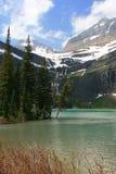 Grinnell See im Glacier Nationalpark lizenzfreie stockbilder