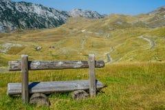 Ein sonniger Tag in den Bergen Stockfoto