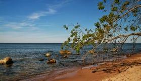 Ein sonniger Tag in der Ostsee lizenzfreie stockbilder