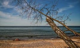Ein sonniger Tag in der Ostsee lizenzfreie stockfotografie