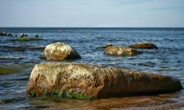 Ein sonniger Tag in der Ostsee lizenzfreies stockfoto