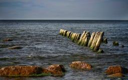 Ein sonniger Tag in der Ostsee stockfotografie
