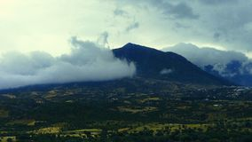 Ein spezieller Tag die Schönheit der Berge von Nord-Marokko hervorhebend stockfoto