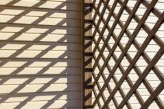 Ein Spiel der Schatten Stockbild