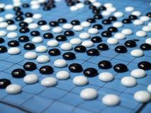 ein Spiel des chinesischen Kontrolleurs gehen   Lizenzfreies Stockbild