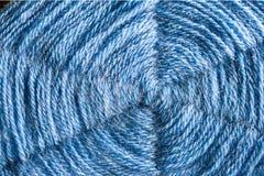 Ein Spinnennetz machte †‹â€ ‹von Woll-Halloween-Hintergrund Lizenzfreies Stockfoto