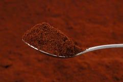 Ein Spoonful Kaffee Lizenzfreie Stockfotos