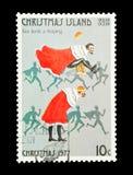 Ein-Springen mit zehn Lords Stockbild