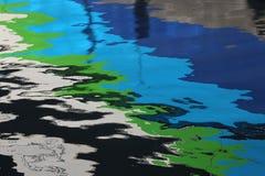 Ein Spritzen von Farben Stockfotografie