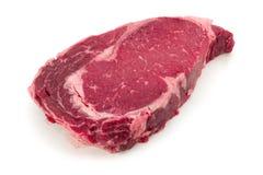 Ein Stück der Fleischrindfleischseite Stockfotografie