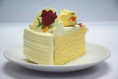 Ein Stück des Kuchens Stockfoto