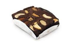Ein Stück des Schokoladenkuchens Lizenzfreie Stockbilder