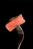 Ein Stück gegrilltes ribeye Steak Lizenzfreies Stockfoto