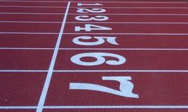 Ein Stück Leichtathletik Lizenzfreie Stockfotografie