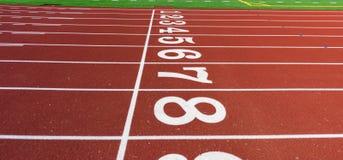 Ein Stück Leichtathletik Stockfoto
