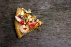 Ein Stück Pizza Stockfoto