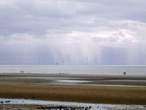 Ein stürmischer Tag weit weg stockbilder