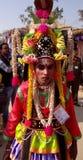 Ein Stammes- Stadiumskünstler Lizenzfreies Stockbild